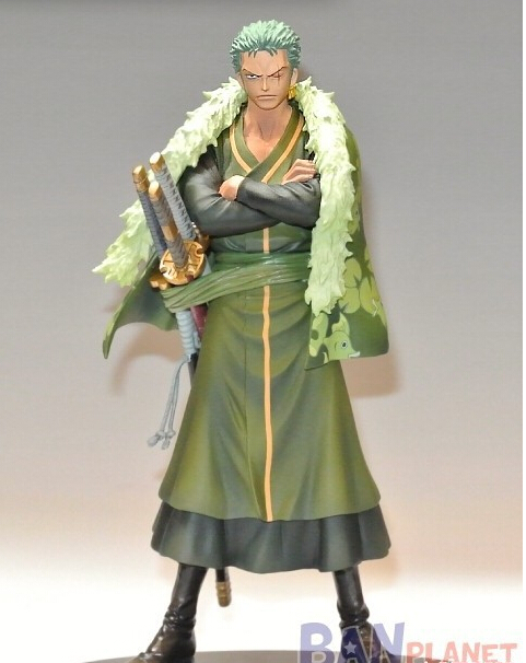 One Piece Zoro Figure DXF PVC 160mm action figures anime toys Onepiece-Action-Figures Roronoa Model