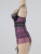 Vestido + g-string hot sale lace vestido roxo confortável bonito babydoll plus size tendência da moda sexy nighties RT70008