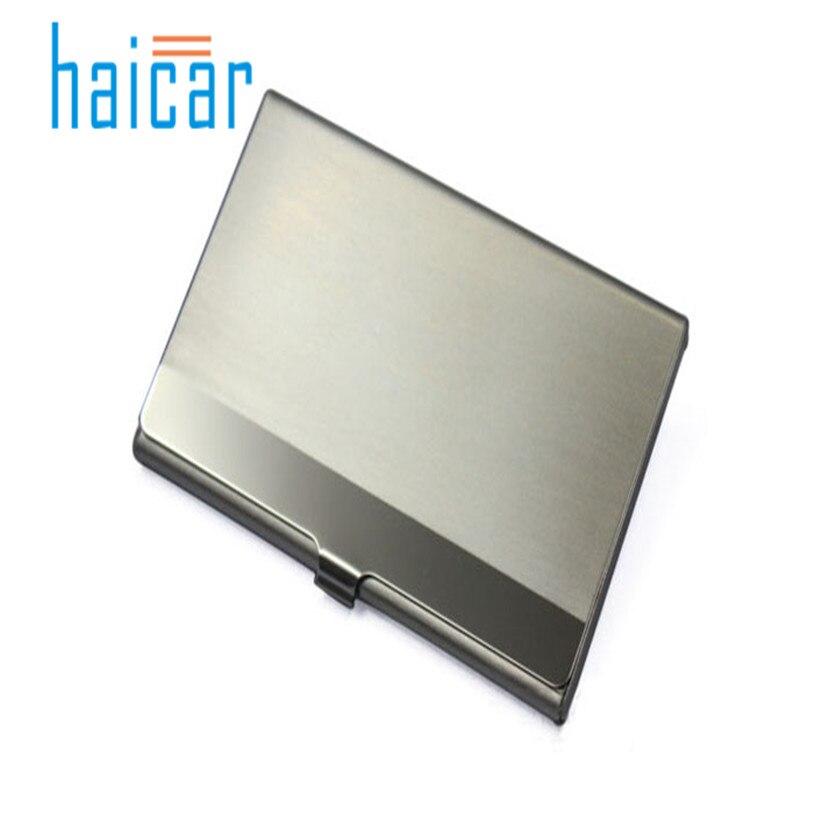 Karton Elegante Tasche Business Name Kredit Id Karte Fall Metall Box Halter Aluminium Legierung Office & School Supplies