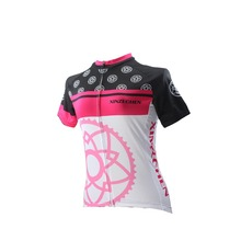 Women Cycling Jersey Breathable Bike Clothing /Quick-Dry Bicycle Sportwear Ropa Ciclismo Shirt Top Gear Flowers