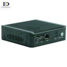 Без вентилятора NUC Мини-ПК Celeron J1800 с 1 * HDMI, HTPC Компьютер ТВ BOX Dual Core. Настольный компьютер 3 * USB 3.0, 1 * USB2.0