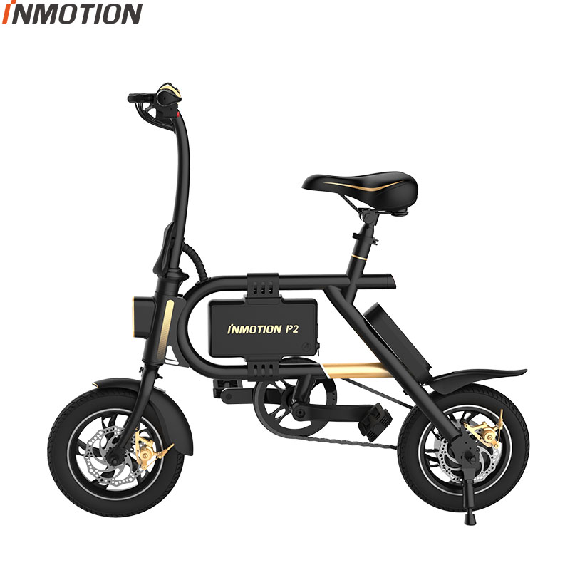 INMOTION P2 EBIKE font b Folding b font Bike Mini font b Bicycle b font Electric