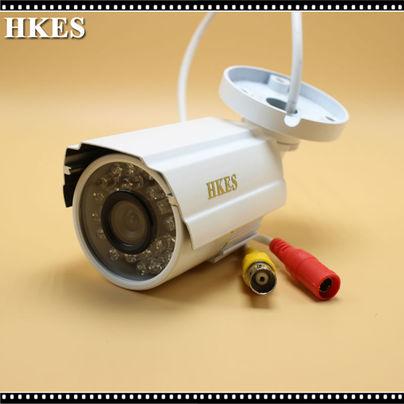 HKES HD 2MP 85 Wide Angle Wired Mini night vision AHD Camera Color CCTV 1/2.8 'Sony surveillance Camera