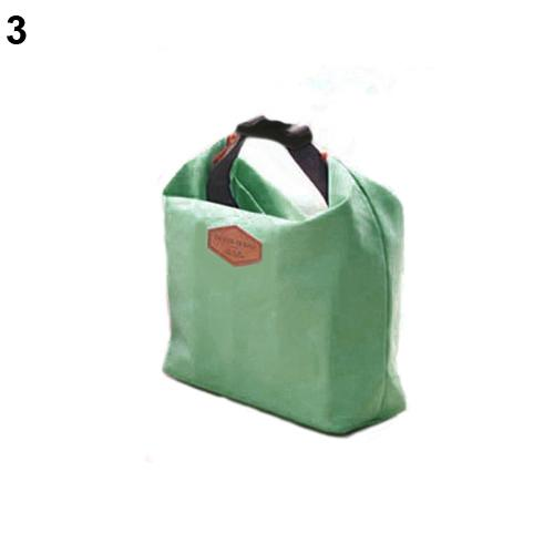 Solid color Creative Thermal font b Cooler b font Insulated Waterproof Lunch Carry Storage Picnic font
