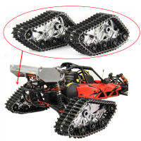 Baja Crawler Snow Ground Rear Tires Caterpillar Band Special Track Wheel for 1/5 HPI KM Rovan BAJA 5B 5T RC Car Upgraded Parts