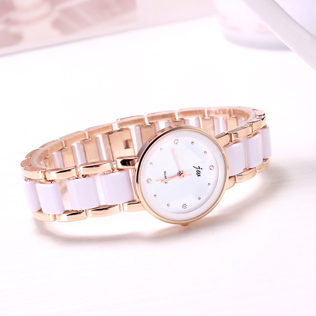 2019 Promotion Real Rose Gold Kimio Retro Student Woman And A Half