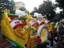 virgin forest inflatable trampoline,commercial inflatable bouncer,inflatable castle toys