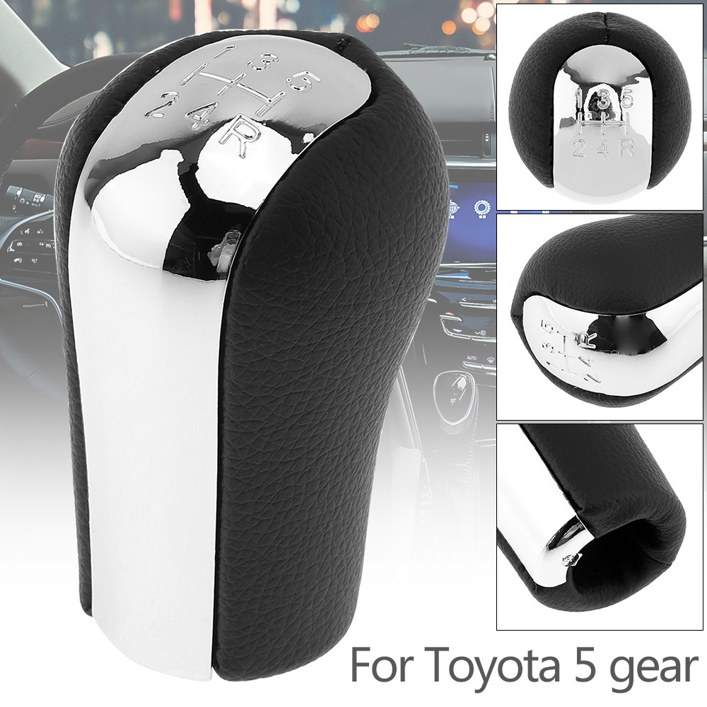 White Ol Skool Shift Knob For 5 Speed Short Throw Shifter Selector 12X1.25 for Toyota Tundra