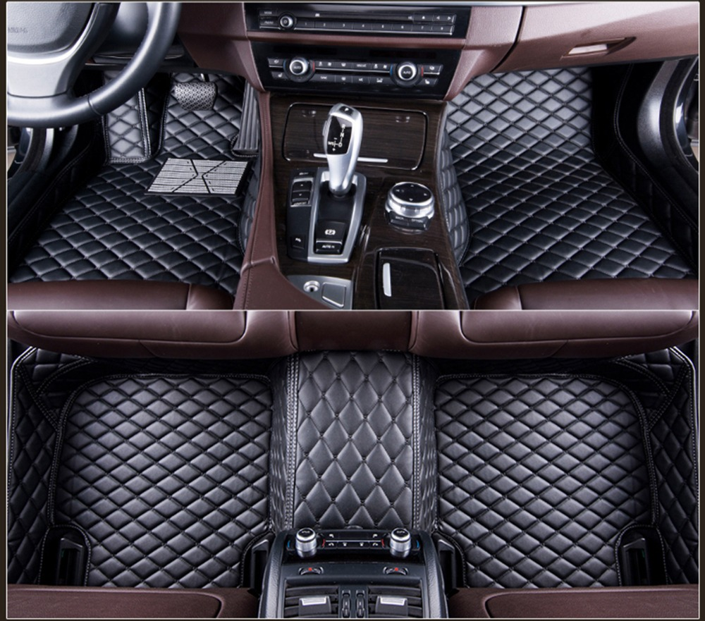 Fit for Audi Q7 2006-2015 &2016-2018 leather Car Floor Auto Mats Waterproof Mat Non toxic and inodorous accessoriesFit for Audi Q7 2006-2015 &2016-2018 leather Car Floor Auto Mats Waterproof Mat Non toxic and inodorous accessories