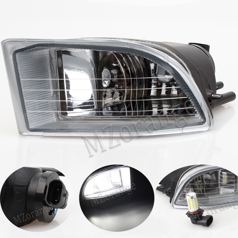 MZORANGE Front LED Fog Light Fog Lamp For Toyota PRADO 120 2700/4000 Land Cruiser LC120 2002 2003 2004 2005 2006 2007 2008 2009 novsight car led headlights assembly headlamp projector drl fog light daylight for toyota prado 2004 2009
