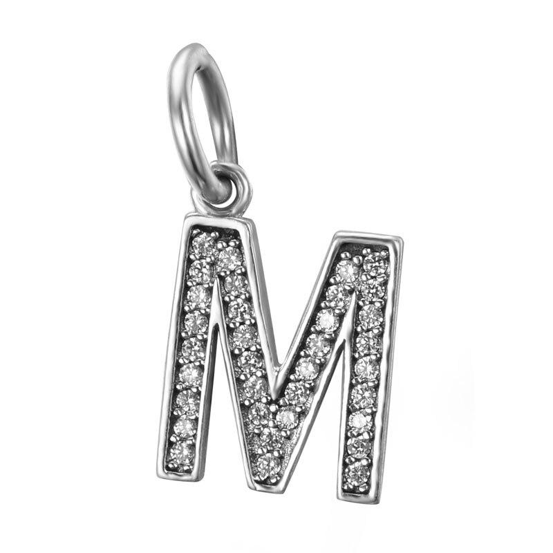 pandora charms lettera m