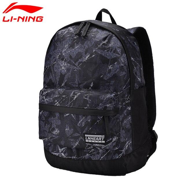 de8a965537b192 Li-Ning Unisex Training Backpack Polyester Classic Leisure Adjustable  Shoulder Strap LiNing Sports Bag ABSM028 BBF227