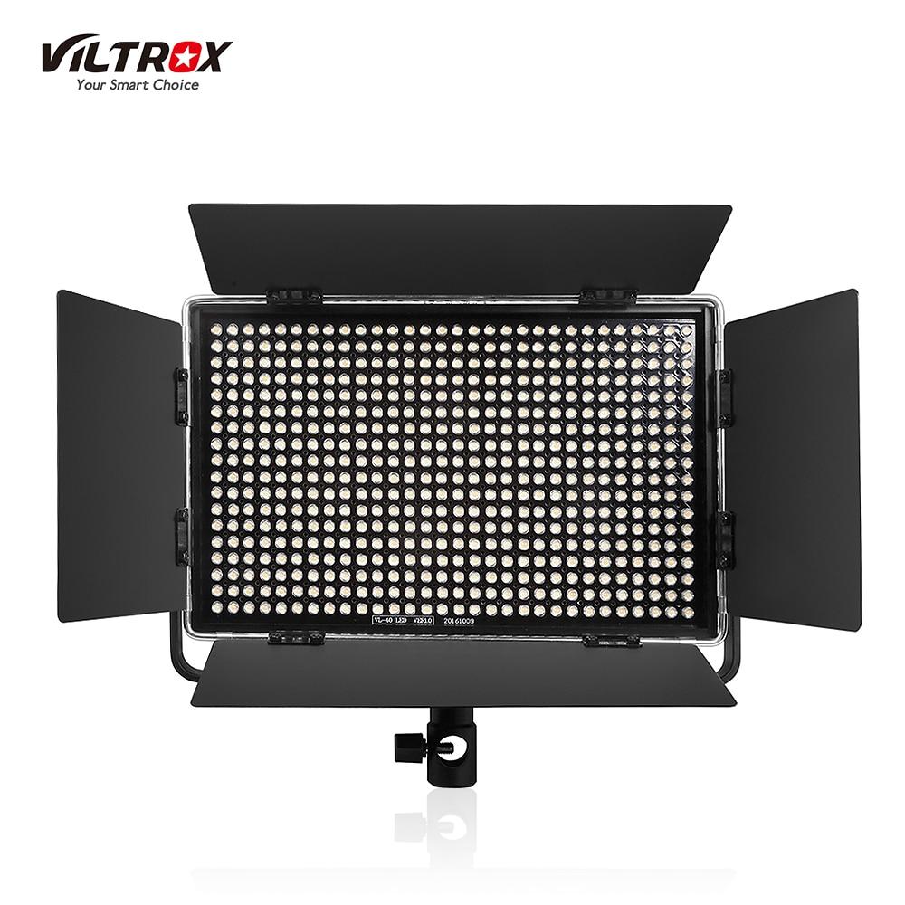 bilder für Viltrox vl-40t professionelle ultradünne led-videoleuchte 3300 karat ~ 5600 karat einstellbare bi-farbtemperatur fotografie led füllen licht
