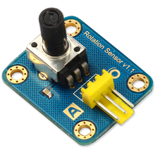 Arduino rotation angle sensor adjustable potentiometer 300 electronic analog sensor blocks