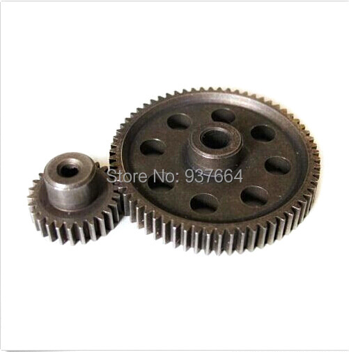 HSP RC 1//10 11184/&11176 Steel Differential Main Gear 64T /& Motor Gear 26T teeth