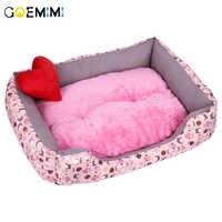 2019 cão cama macia confortável inverno quente canil para animal de estimação cama para casa de qualidade superior para gato