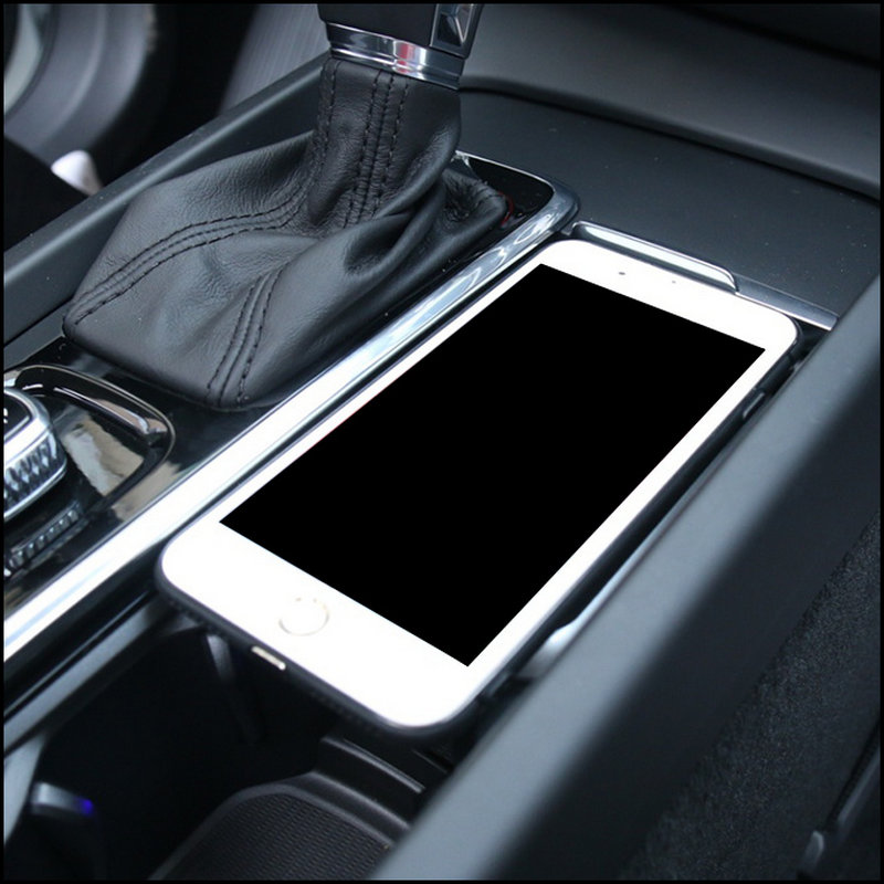Car wireless charger For volvo XC90 NEW XC60 S90 V90 C60 V60 2018 2019 Special mobile phone charging plate car accessories