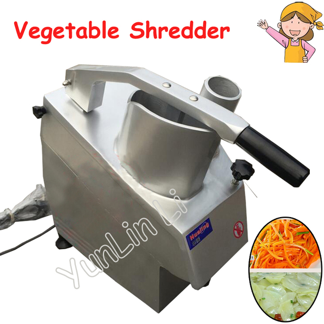 220V Automatic Vegetable Cutting Machine 550W Table Type Vegetable Shredders 150kg/h Leafy Greens Cutter HLC-300