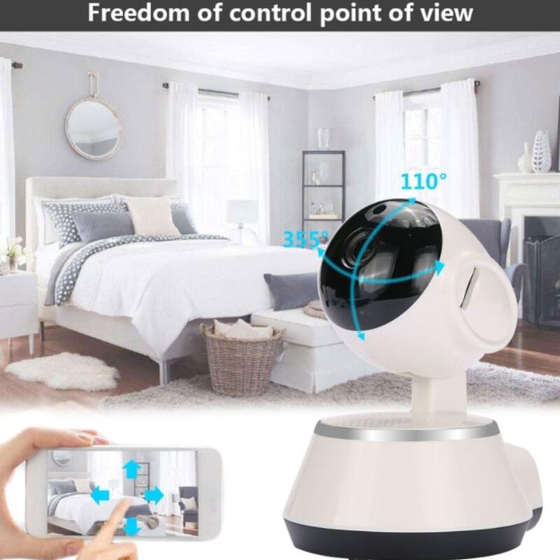 цена V380 HD 720P Mini IP Camera Wifi Wireless P2P Security Surveillance Camera Night Vision IR Baby Monitor Motion Detection Alarm в интернет-магазинах
