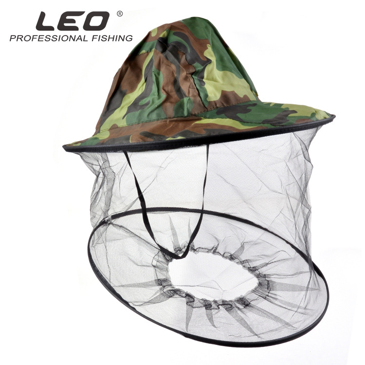 Anti-mosquito Hat Insect camouflage hoods Men Women Cycling Cap with Mask Breathable Mesh Head Face Protector Camping Hat
