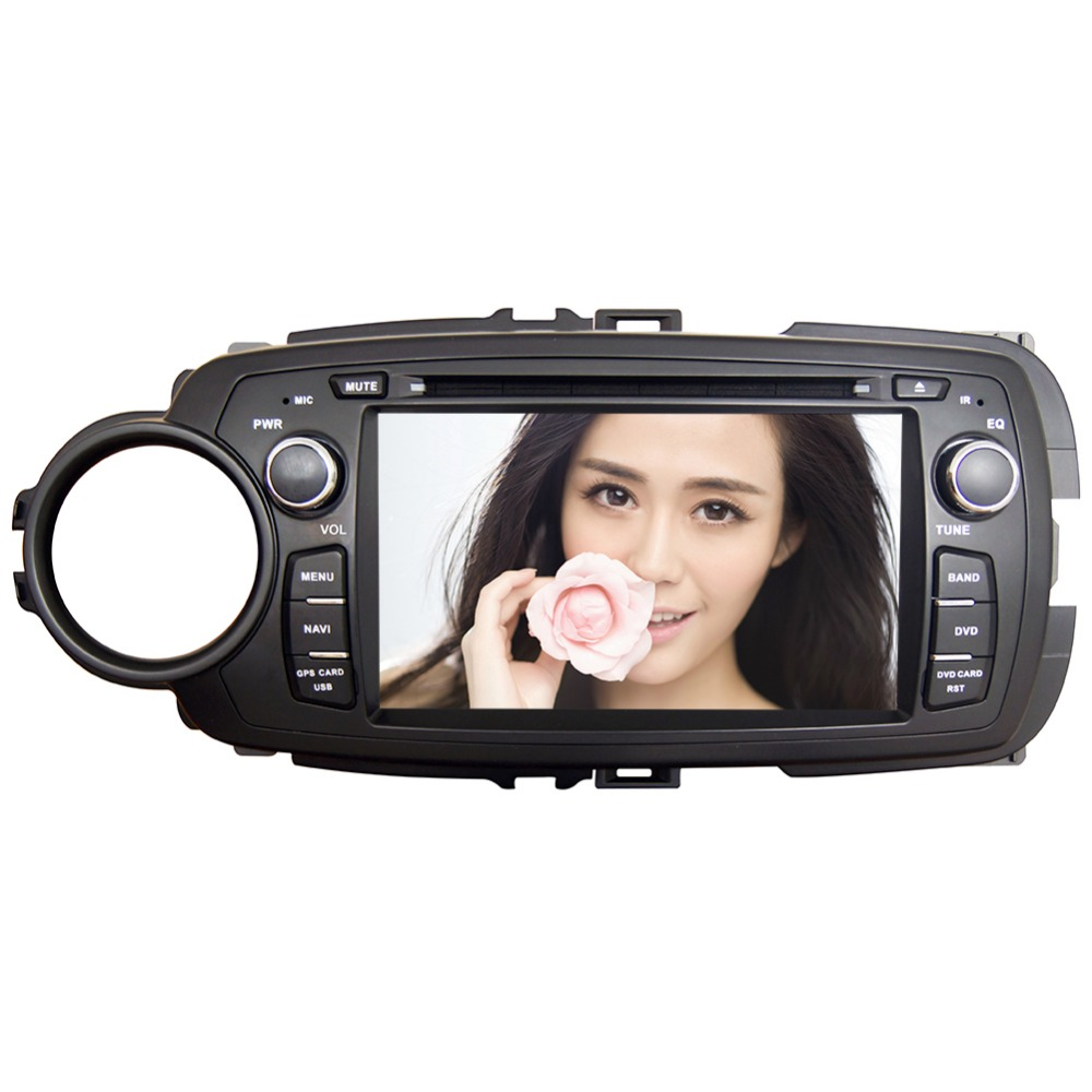 7 hd 4 core android 6 0 car dvd gps radio video stereo navigation player for