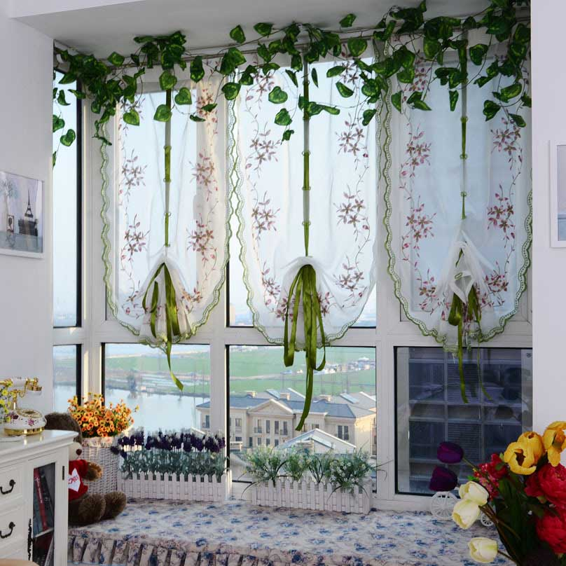 romano cortinas de tul tul visillos cortinas de la cocina ventana visillos cortinas para la