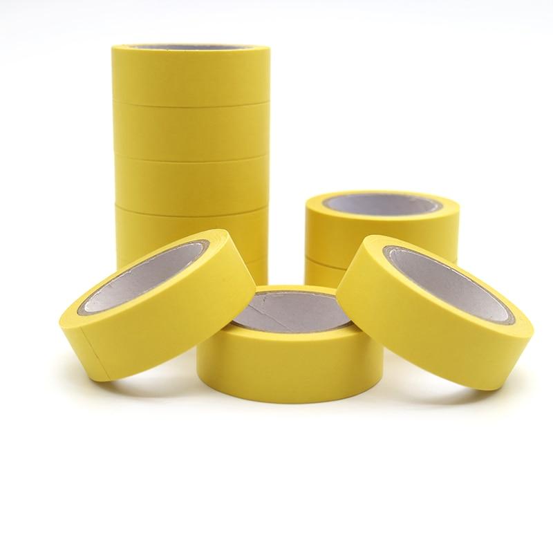 10m*15mm Refreshing Kawaii Candy Yellow Color Washi Tape Pattern Masking Tape Decorative Scrapbooking DIY Office Adhesive Tape