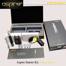 Digital Cigarette Authentic Aspire Starter Equipment Atomizer + 5pcs BVC Coils + 900mah Battery Pen Mechanical MOD Equipment vs kayfun v5