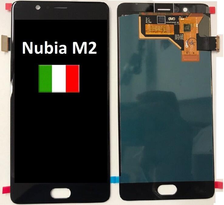 Original NOUVEAU Pour ZTE Nubia M2 NX551J Écran LCD Écran Tactile Digitizer Pour ZTE Nubia M2 Assemblée D'affichage Écran de Remplacement LCD