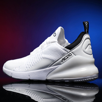 size 39 46 Breathable Sneakers No slip Vulcanize Shoes Air Mesh Lace Up Wear resistant men Casual Shoes 2019