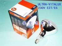 FREE SHIPPING OSRAM ULTRA VITALUX 230V E27/ES 300W UV LAMPS ultraviolet light bulbs copy lights bulbs