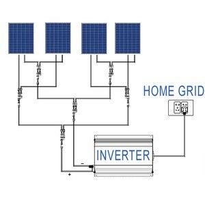 Image 5 - 1KW 1000 W البطارية التفريغ MPPT عاكش شبكات الطاقة الشمسية مع المحدد الاستشعار DC22 65V/45 90 V AC 110 V 120 V 220 V 230 V 240 V