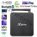 3 GB de RAM 32G X98 PRO de Metal Caja de TV 3G/16G 2G/16G Android 6.0 Octa Core 4 K H.265 Amlogic S912 Kodi 16.1 a Plena Carga Inteligente Conjunto Top