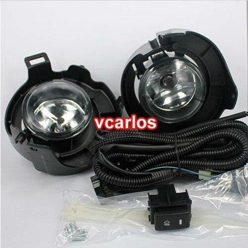 Vcarlos lampe anti-brouillard halogène pour NISSAN PATHFINDER XTERRA 2004 ~ 2009 ON avec interrupteur