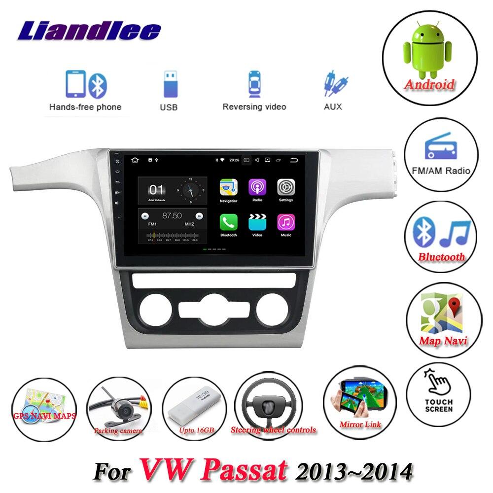 Liandlee Car Android System For Volkswagen VW Passat 2013~2014 Radio USB TV FM GPS Wifi Nav Navi Navigation HD Stereo Multimedia