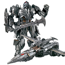 Lensple WEI JIANG Transformation The Last Knight Galvatron MP36 MW-002T MW-001-T MP-36 Movie 5 Alloy Oversize Figure Robot Toys transformation the last knight galvatron mp36 mw 002t mw 001 t mp 36 movie 5 alloy oversize figure robot toys
