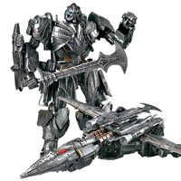 Lensple WEI JIANG Transformation Die Letzten Ritter Galvatron MP36 MW-002T MW-001-T MP-36 Film 5 Legierung Oversize Figur Roboter Spielzeug