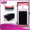 10 bandejas/set 16 linhas de Alta qualidade de vison cílios cílios cílios individuais cílios naturais falso extensão cílios postiços maquiagem