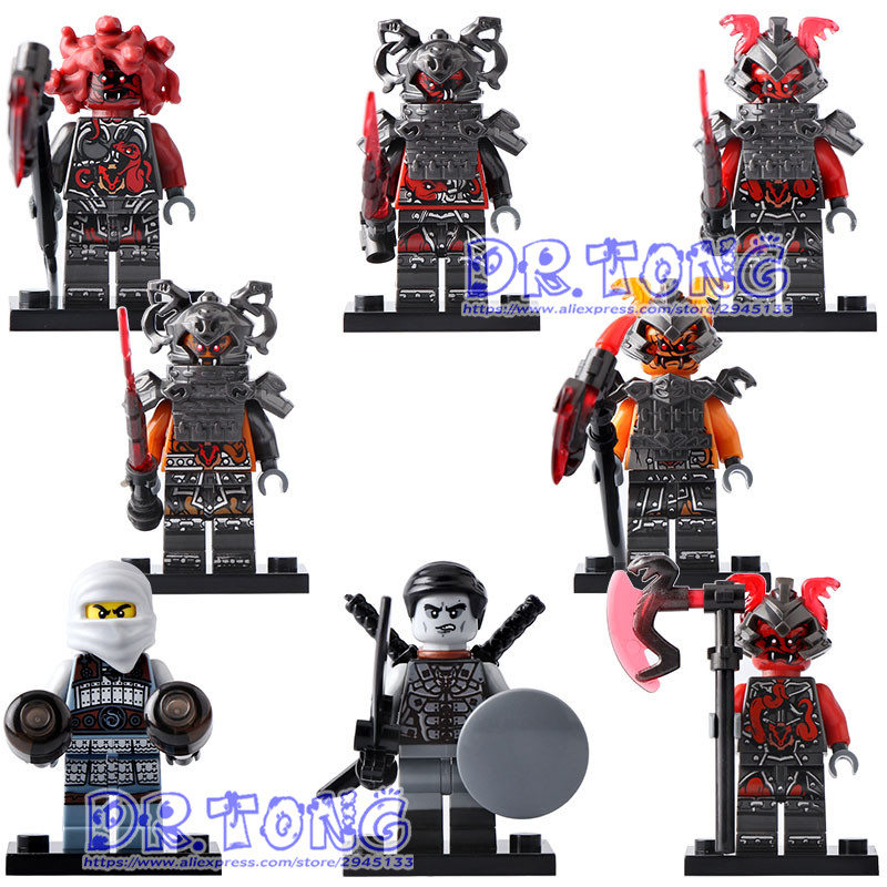 DR.TONG 80pcs/lot G8055 Ninja Figures Vermin The Wei Snake Bronk ZaneSuper Heroes Avengers Building Blocks Bricks Children Toys motorcycle bluetooth helmet intercom v6 stereo headset 6 riders windproof waterproof intercom motocycle skiing concert 2pcs lot