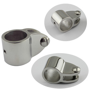 Image 1 - Durable Stainless Steel Top Jaw Slide  Sleeve Boat Hardware Connecting Hinge with Bolt 22mm/25mm