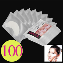 100 Pairs Under Eye Pads Patch Lint Eyelash Extension Tool Eye Lashes Supply Set
