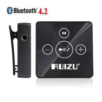 Ruizu X15 Portable Lossless Digital Hifi Audio Mp 3 Mini Clip Sport Music Mp3 Player Bluetooth 8GB With Flac Running Media WAV portable media player