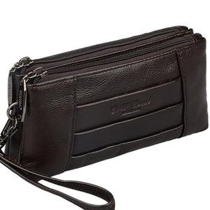 Fashion Genuine Leather Clutch