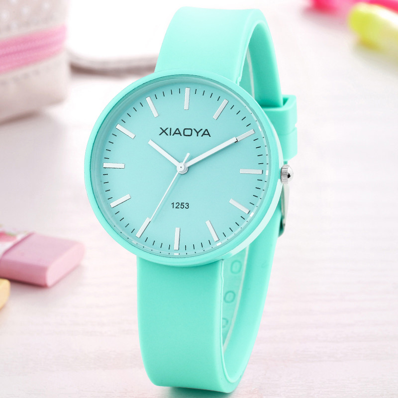 Watches Kids Cute Colorful Simple Quartz Watches For Girls Boys Children Watch Pink Fashion Candy Wrist Watches Gifts Waterproof