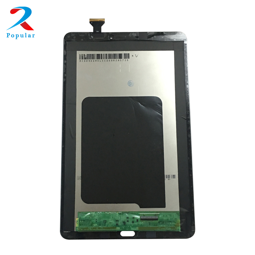 For Samsung Galaxy Tab E 9.6 SM-T560 T560 T561 Touch Screen Digitizer Sensor Glass + LCD Display Panel Monitor Assembly touch screen digitizer glass for samsung galaxy tab e 9 6 sm t560 t560 t561 free shipping 100% tested
