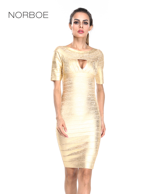Gold Luxury Party Dresses