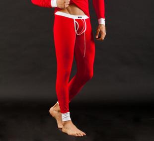 Venta caliente de Los Hombres Modal Ropa Interior Térmica Calzoncillos Largos de Fondo, Masculina Ropa Térmica Pantalones de Pijama Bulge bolsa Low Rise diseño CK2