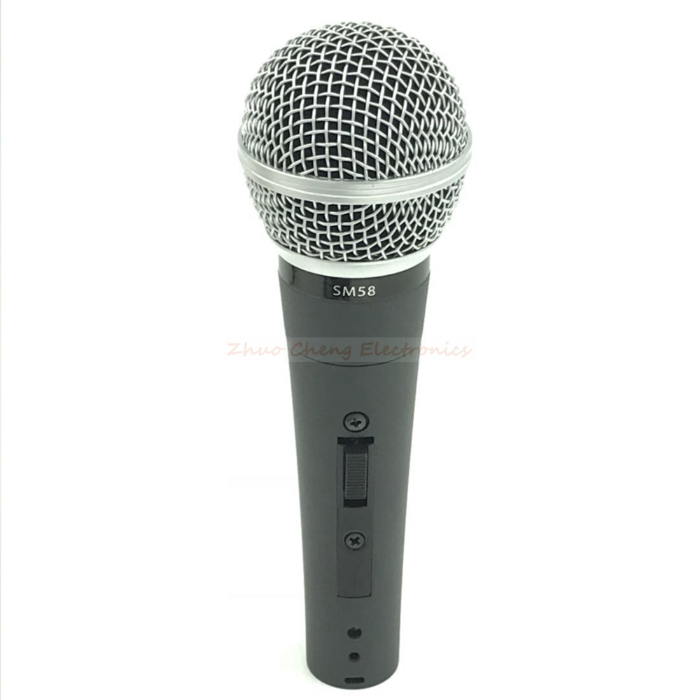 KSOAQP 5PC SM 58LC Wired Vocal Karaoke Microphone Professional Dynamic Mic For SM58LC Studio Sing DJ