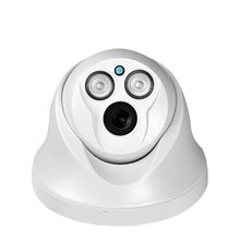 Dome surveillance camera HD infrared night vision surveillance camera 1200 line security room wide angle probe