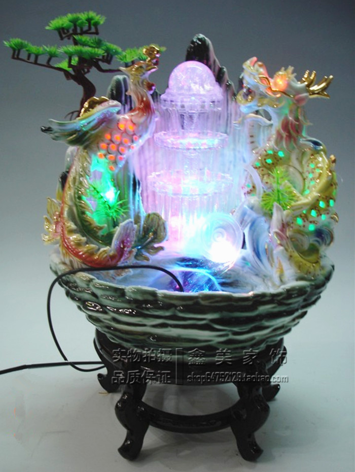 Indoor Fountains For Home Ceramic home accessories humidifier water indoor fountains wheel ceramic home accessories humidifier water indoor fountains wheel lucky ball feng shui ceramic water fountain on aliexpress alibaba group workwithnaturefo